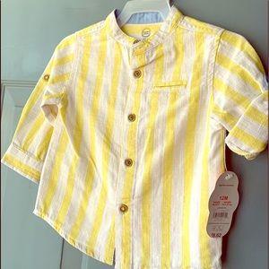 Wonder Nation - Baby Boy Shirt - 12M  - $10